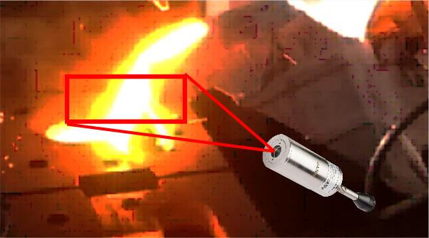 IR CAST 2C Pyrometer with Focusable Optics